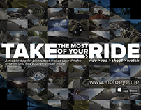 motoeye.me iPhone app for bikers