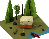 Low Poly Trailer