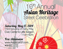 Asian Heritage Fair Poster