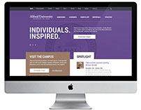 Alfred University Website redesign