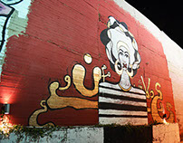 Hush (graffiti, painting)