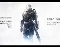 Isolation Pro Halo - Header Design