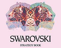 Swarovski Brand Strategy Book Design
