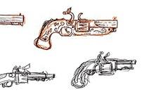 Fantasy Project: Concept sketches