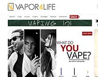 V4L Vapor4Life New Storefront