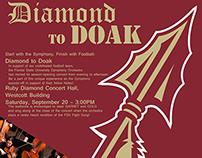 Diamond to Doak promotional poster