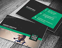 Clean & Corporate Business Card VO-36