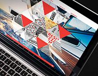Website Concept for KRUCHE! creative agency