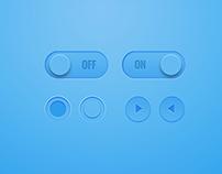UI Elements - Free PSD