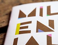 Millennials Event branding