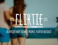 Flirtie App | UX & App Design