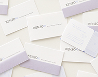 KENZOKI shopcard, invitation, flyer