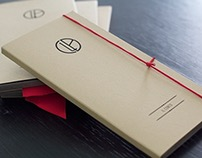 Handcrafted Restaurant Bill Holder Packaging