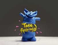 Taco fyrir mig - Stop Motion