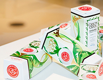 High decorated golf ball packaging for Canon Tokyo