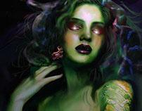 El pendiente de Medusa