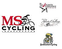 Logo designs for the MS Society and others