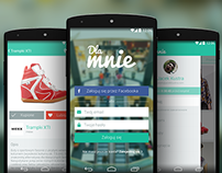 Dla Mnie mobile application