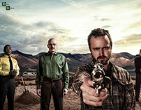 Alternate Poster of Breaking Bad