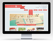 Strawberry Print eCommerce Site