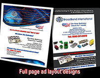 graphic design for print and online catalog upgrade