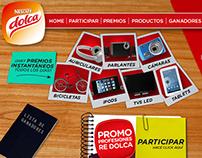 Nescafé Dolca Web Design