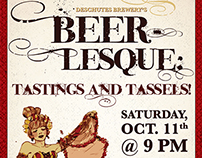 Beer-lesque Poster