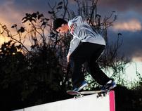 Imagine skateboards ad shots