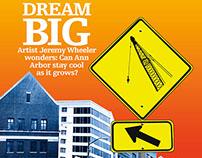 """Dream Big"" - The Future of Ann Arbor Comic for The Ann"