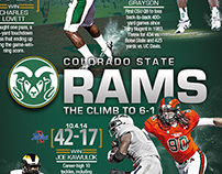The Climb to 6-1 Infographic Colorado State Football