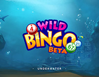 Wild Bingo - Underwater theme
