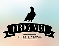 Bird's Nest - Style & Groom Branding and Product Design