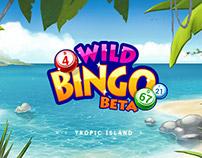Wild Bingo - Tropic Island theme