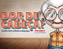 Campanha Digital // Doralgina