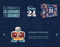 Becker 24 Pack campaña