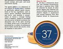 Flyer Design - Dr. Guo's 37 Healing Salve