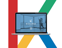Koloria Residence Website Design