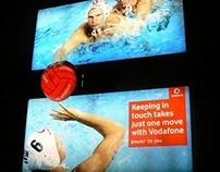 "Vodafone ""One move billboard"""
