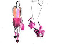 Fashion illustration / Miu Miu '15