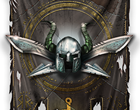 Earthcore: Shattered Elements - faction banners