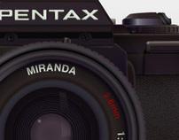Pentax, Vader & adidas