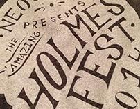 Holmes Fest Branding