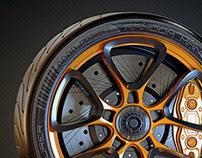Wheel design 3 (3D)