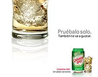 """Canada Dry """"Pruébalo solo"""""""