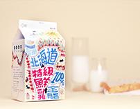 北海道100%福樂鮮乳-tetra pak design