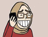 Cafcaf Karikatürleri - Elif Büşra Doğan