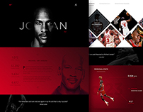 Michael Jordan Website