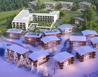 Resort Gastein Austria - CGI
