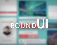 Random round UI Kit
