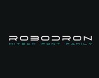 Robodron font family